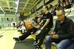 Die Trommler sind bereit für das Spiel!