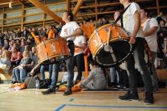 Tolle Unterstützung der Ulmer Fans!
